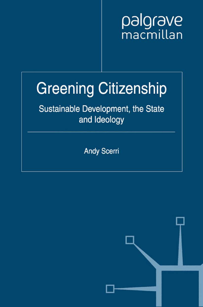 Scerri, Andy - Greening Citizenship, ebook