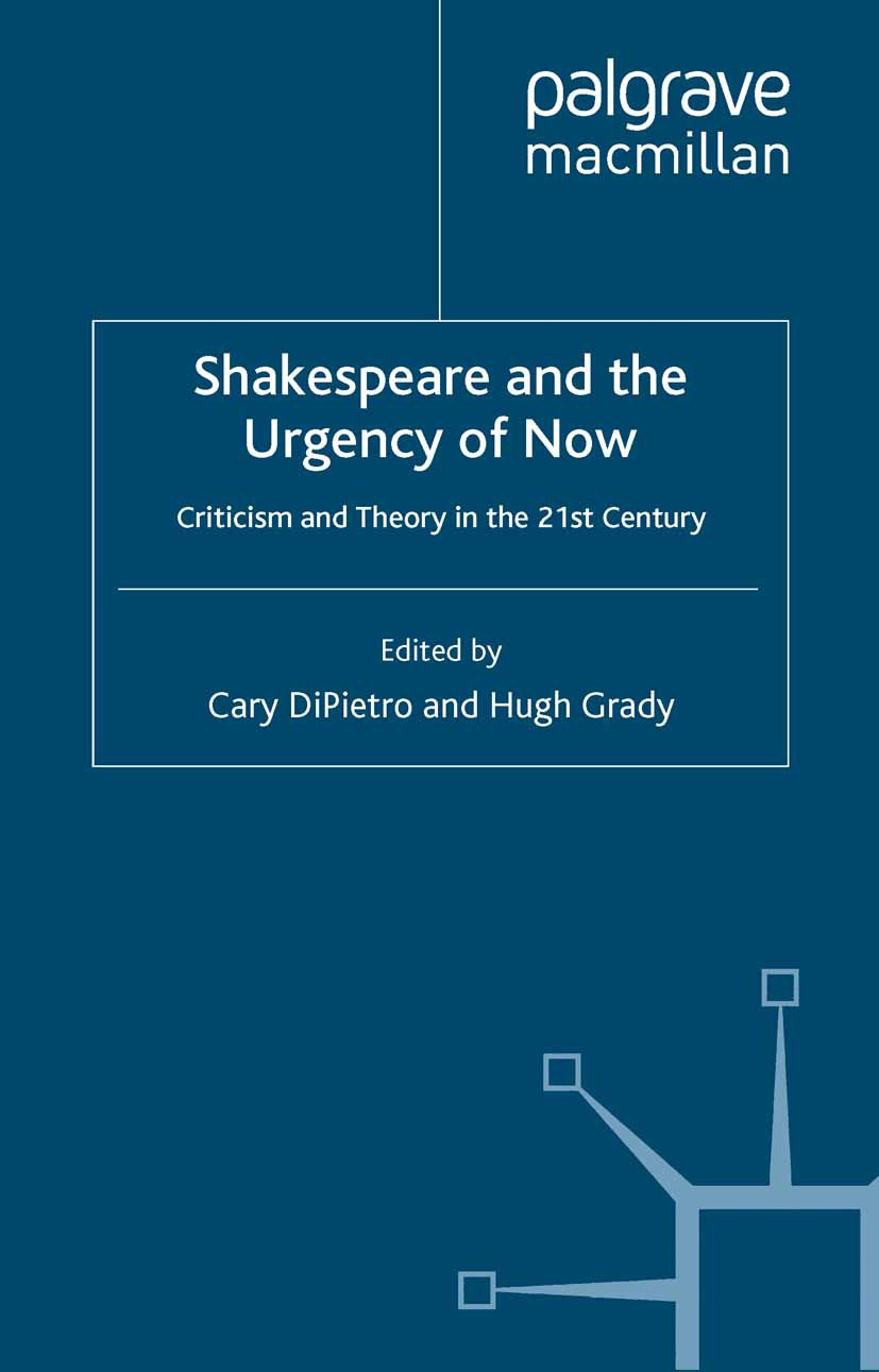 DiPietro, Cary - Shakespeare and the Urgency of Now, ebook