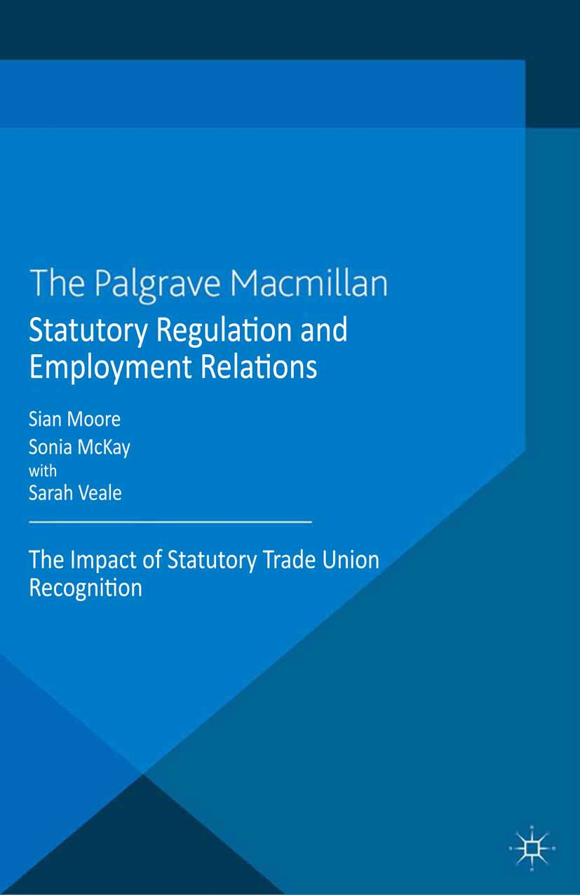 McKay, Sonia - Statutory Regulation and Employment Relations, ebook