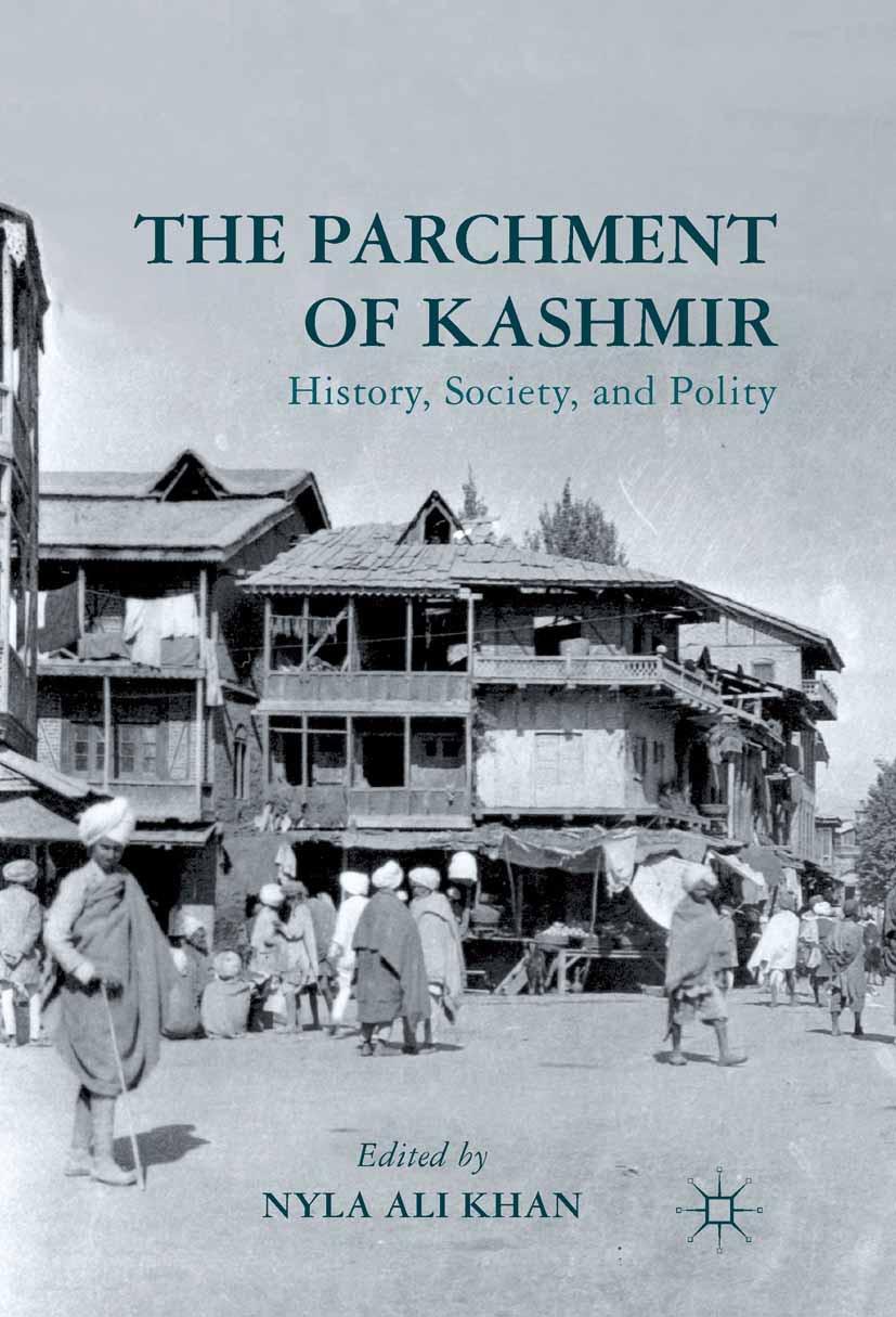 Khan, Nyla Ali - The Parchment of Kashmir, ebook