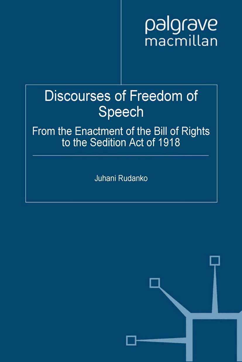 Rudanko, Juhani - Discourses of Freedom of Speech, ebook