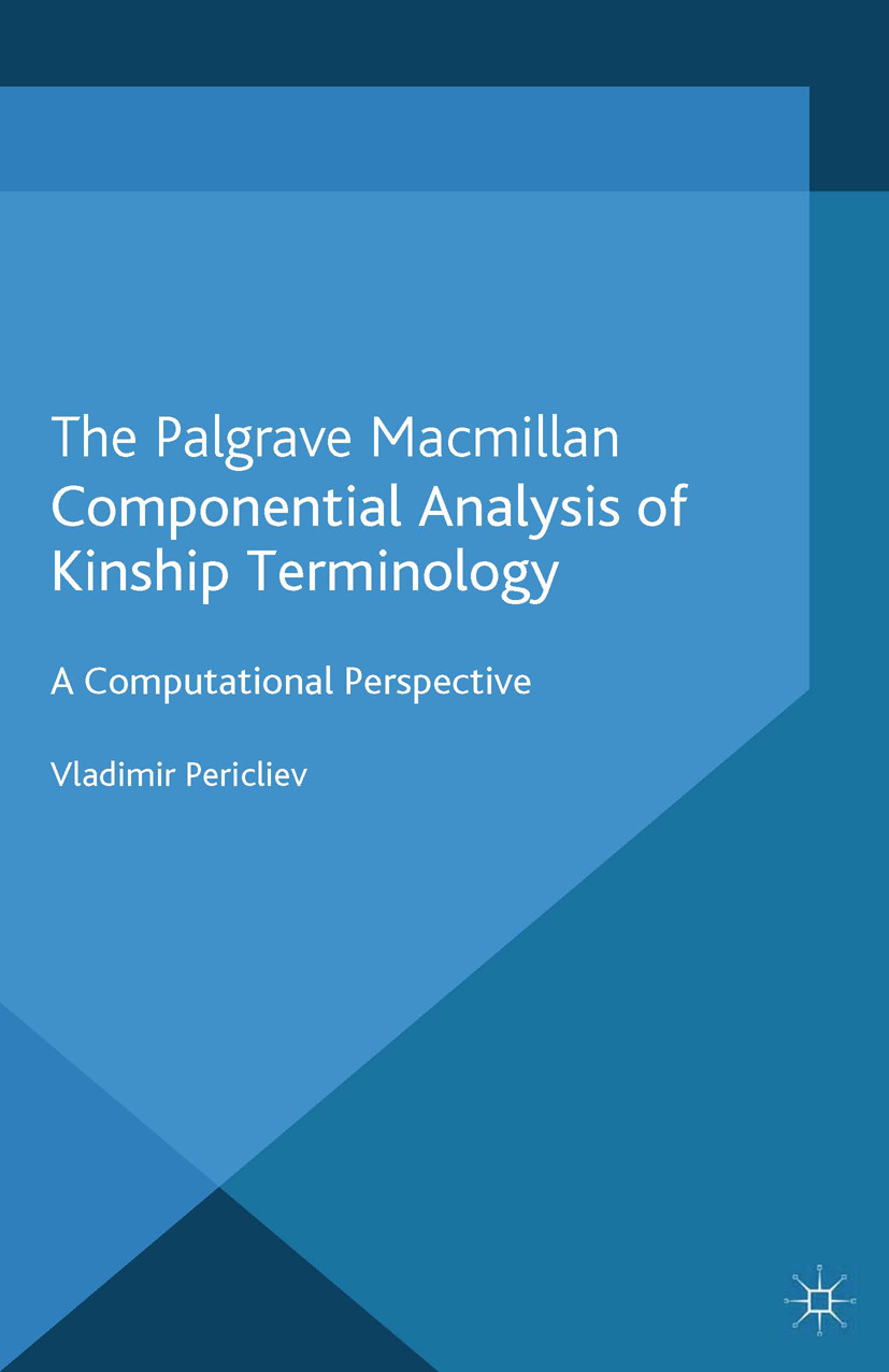 Pericliev, Vladimir - Componential Analysis of Kinship Terminology, ebook