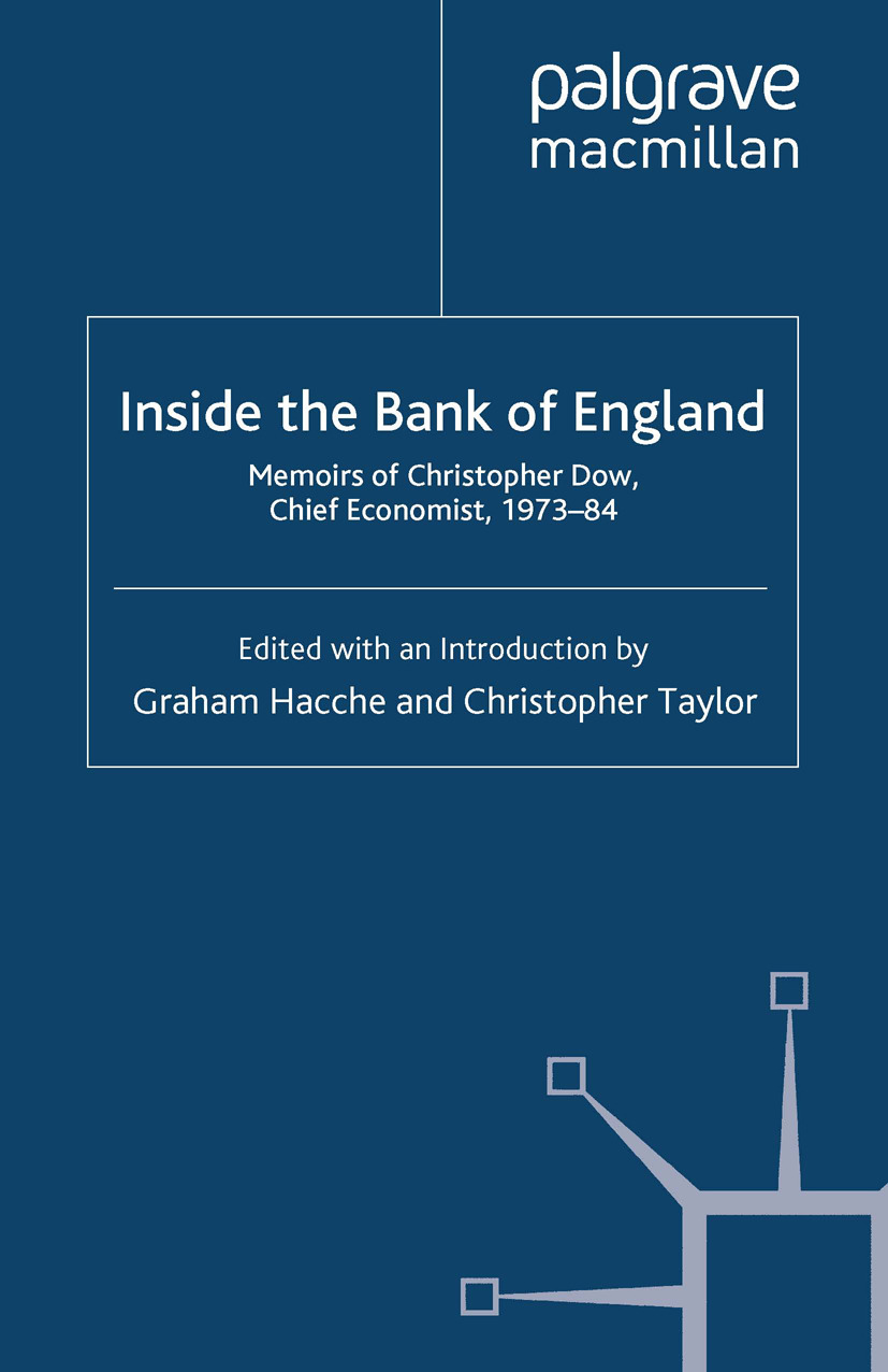 Hacche, Graham - Inside the Bank of England, ebook