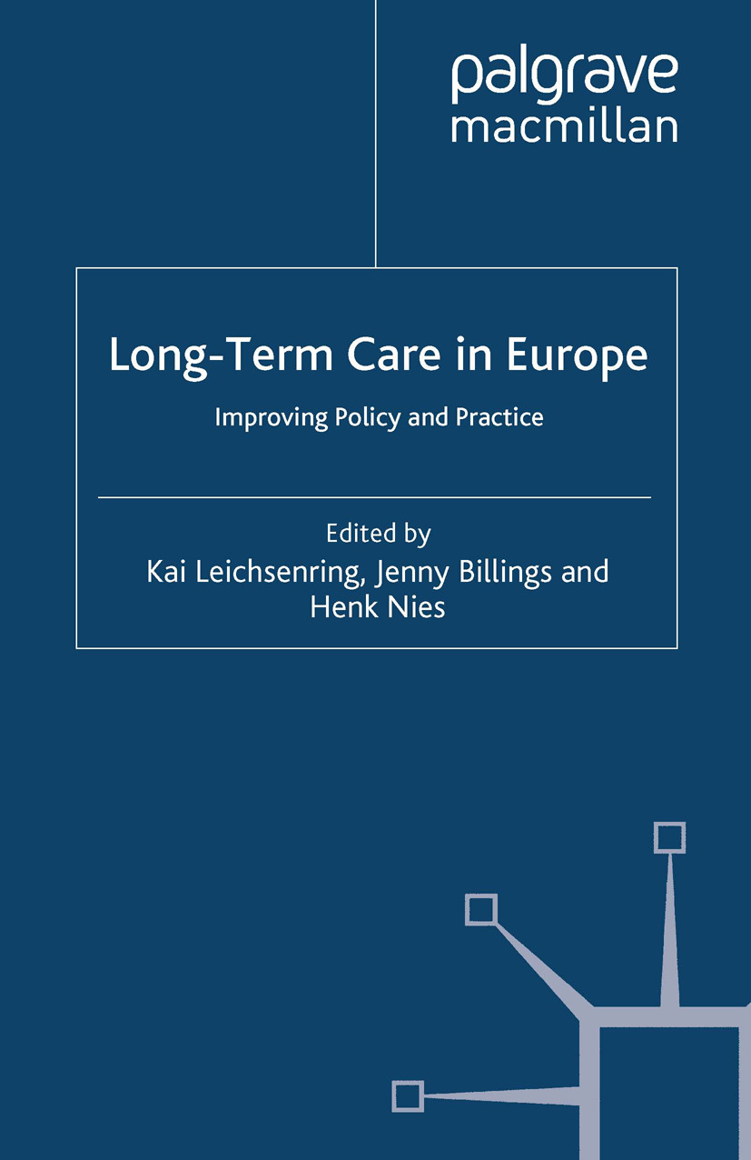 Billings, Jenny - Long-Term Care in Europe, e-bok