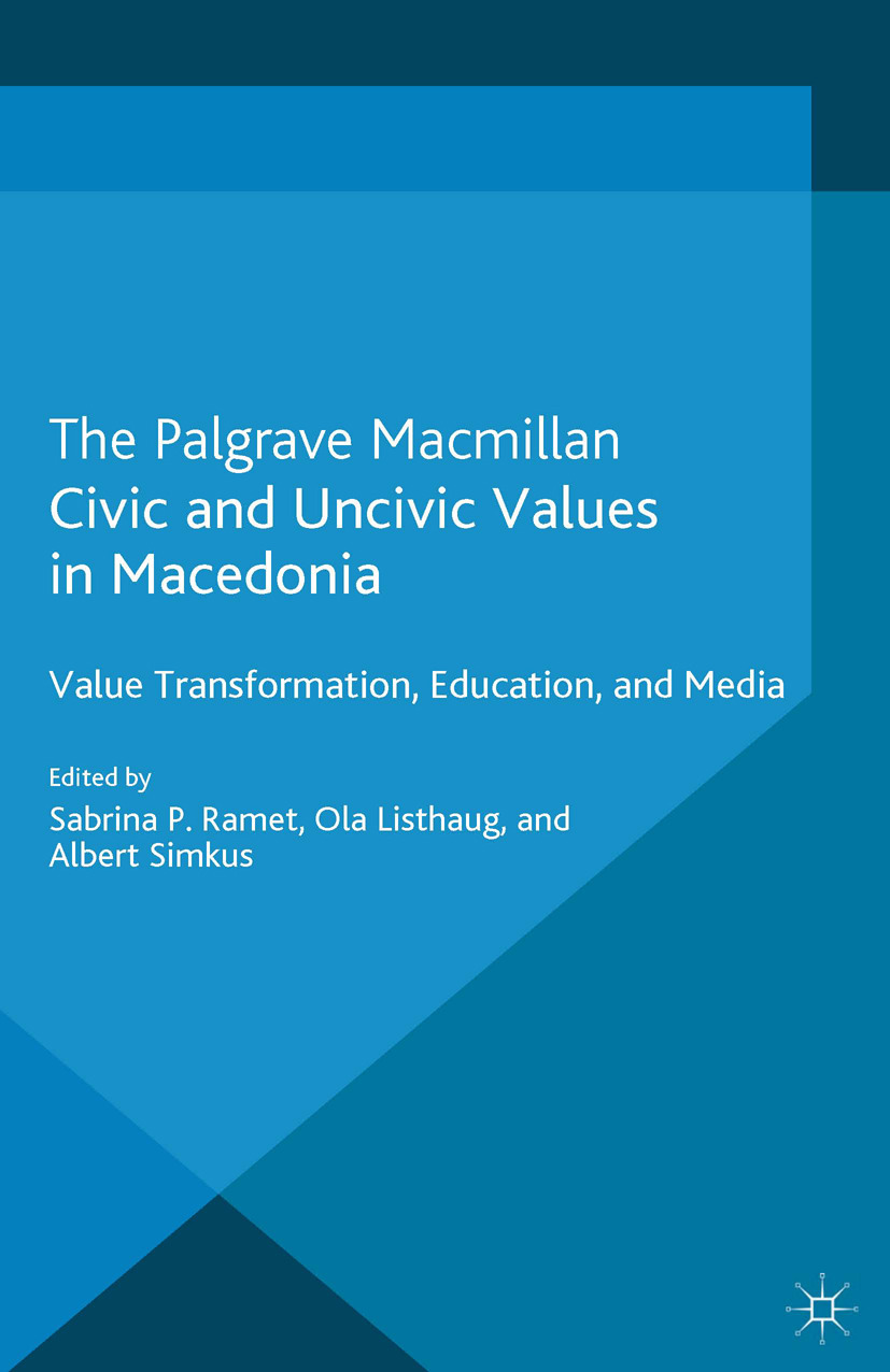 Listhaug, Ola - Civic and Uncivic Values in Macedonia, ebook