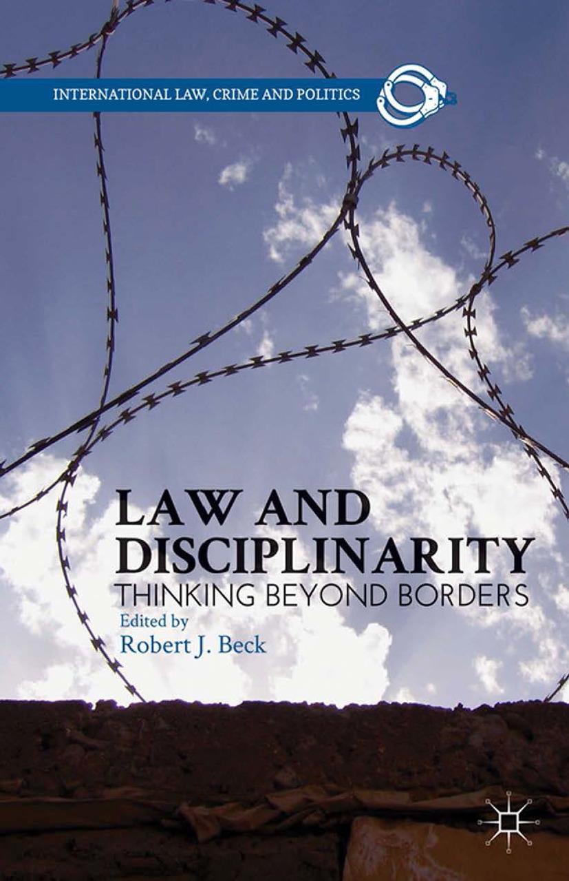 Beck, Robert J. - Law and Disciplinarity, ebook