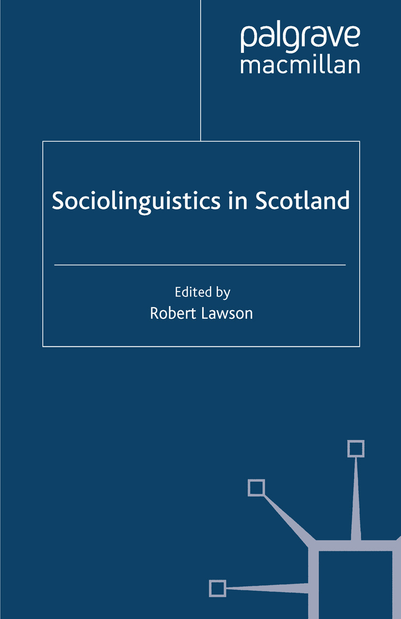 Lawson, Robert - Sociolinguistics in Scotland, ebook