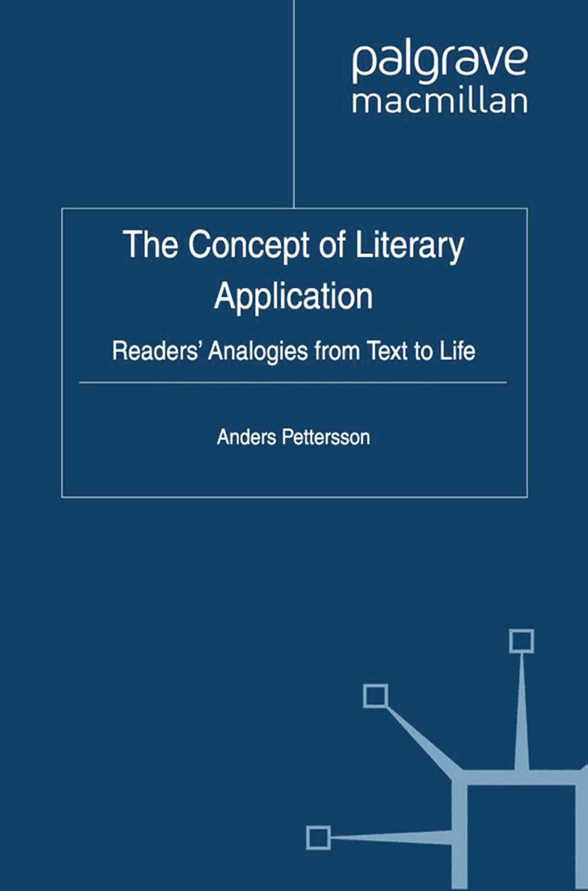 Pettersson, Anders - The Concept of Literary Application, ebook