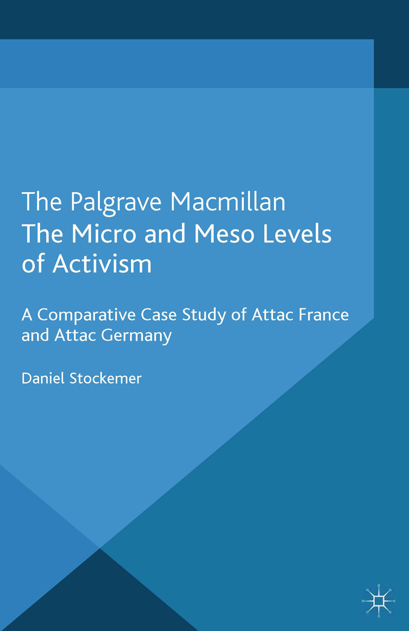 Stockemer, Daniel - The Micro and Meso Levels of Activism, ebook