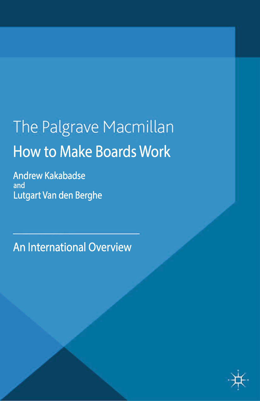 Berghe, Lutgart - How to Make Boards Work, ebook