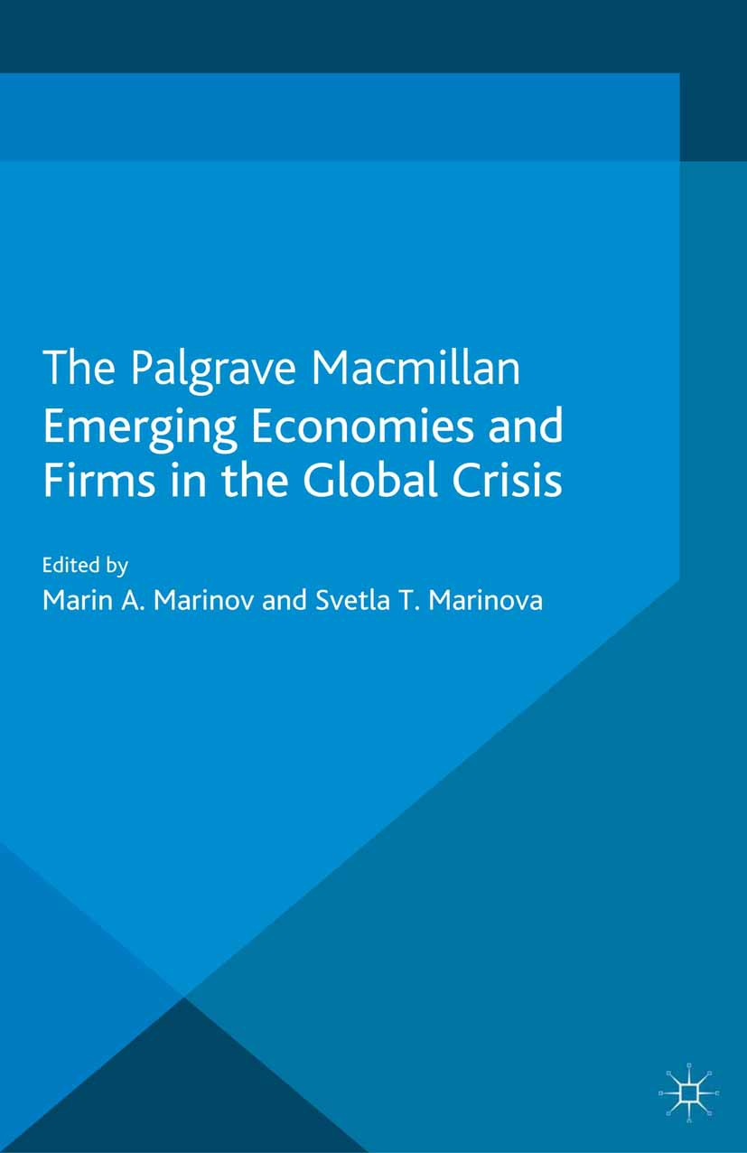 Marinov, Marin A. - Emerging Economies and Firms in the Global Crisis, ebook