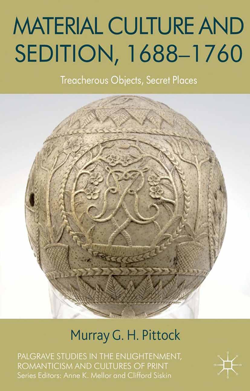 Pittock, Murray - Material Culture and Sedition, 1688–1760, ebook