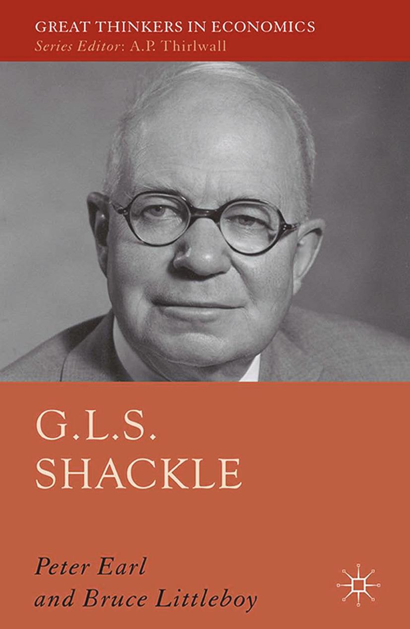 Earl, Peter E. - G.L.S. Shackle, ebook