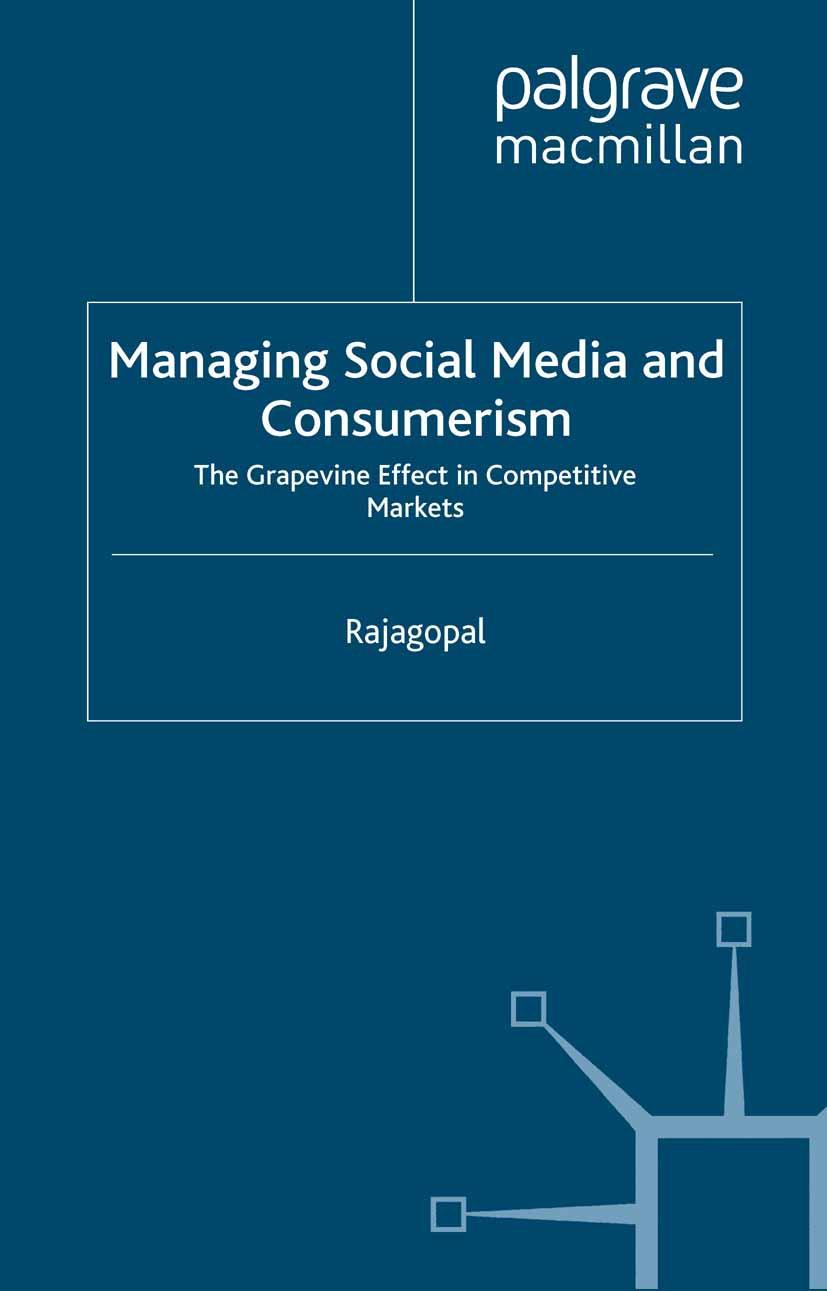 Rajagopal - Managing Social Media and Consumerism, ebook