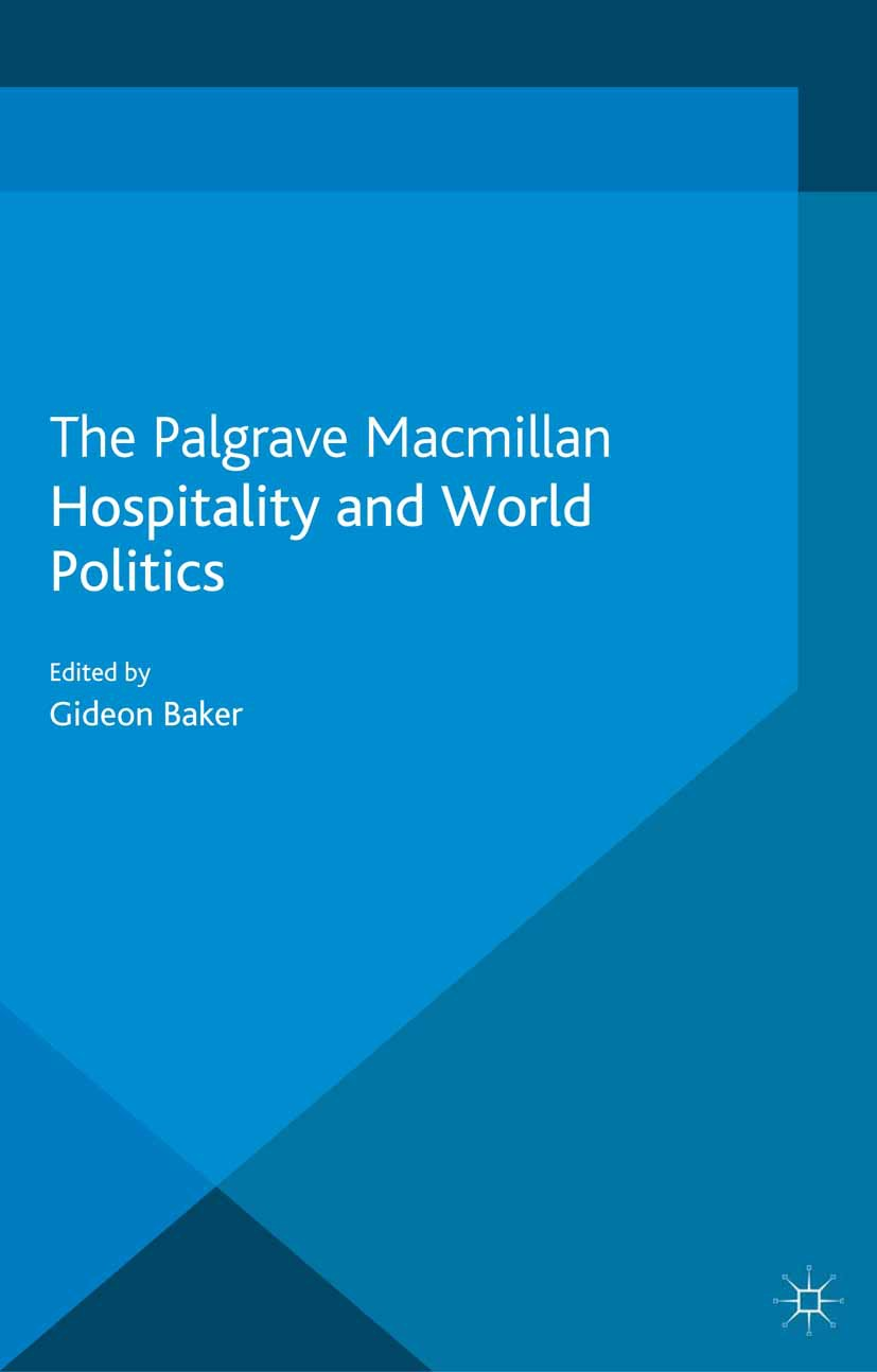 Baker, Gideon - Hospitality and World Politics, ebook