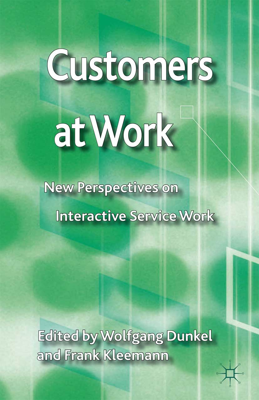 Dunkel, Wolfgang - Customers at Work, ebook