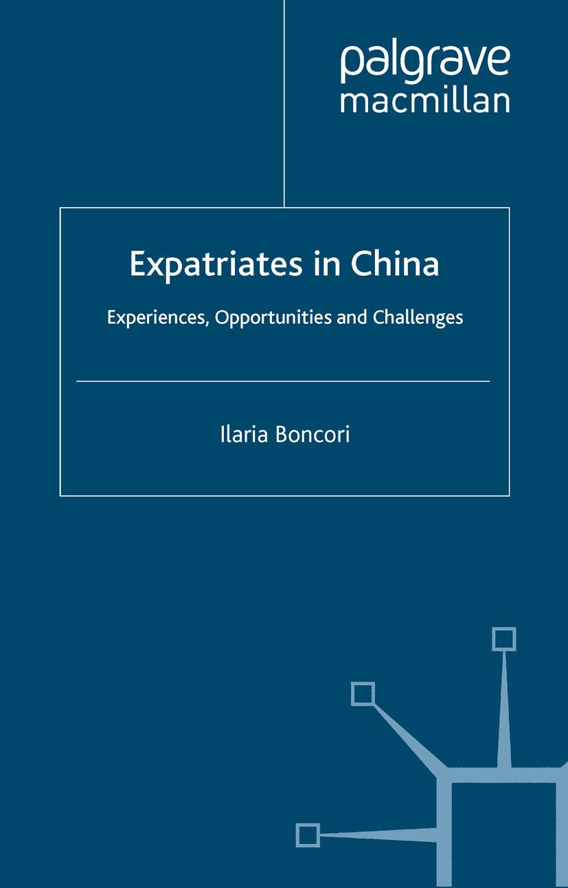 Boncori, Ilaria - Expatriates in China, ebook
