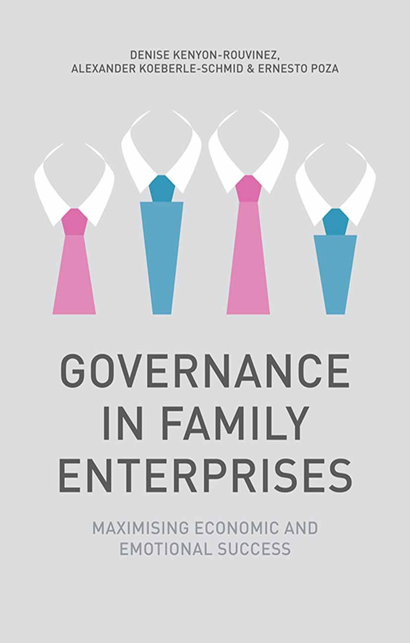 Kenyon-Rouvinez, Denise - Governance in Family Enterprises, ebook