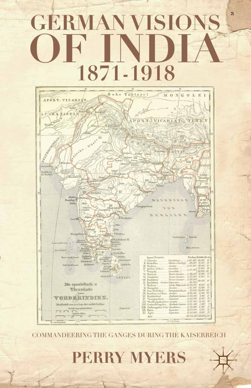 Myers, Perry - German Visions of India, 1871–1918, ebook