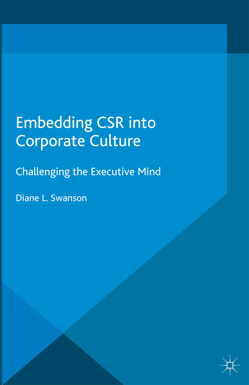 Swanson, Diane L. - Embedding CSR into Corporate Culture, ebook