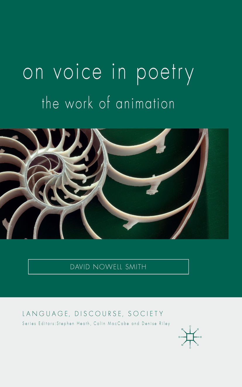 Smith, David Nowell - On Voice in Poetry, ebook
