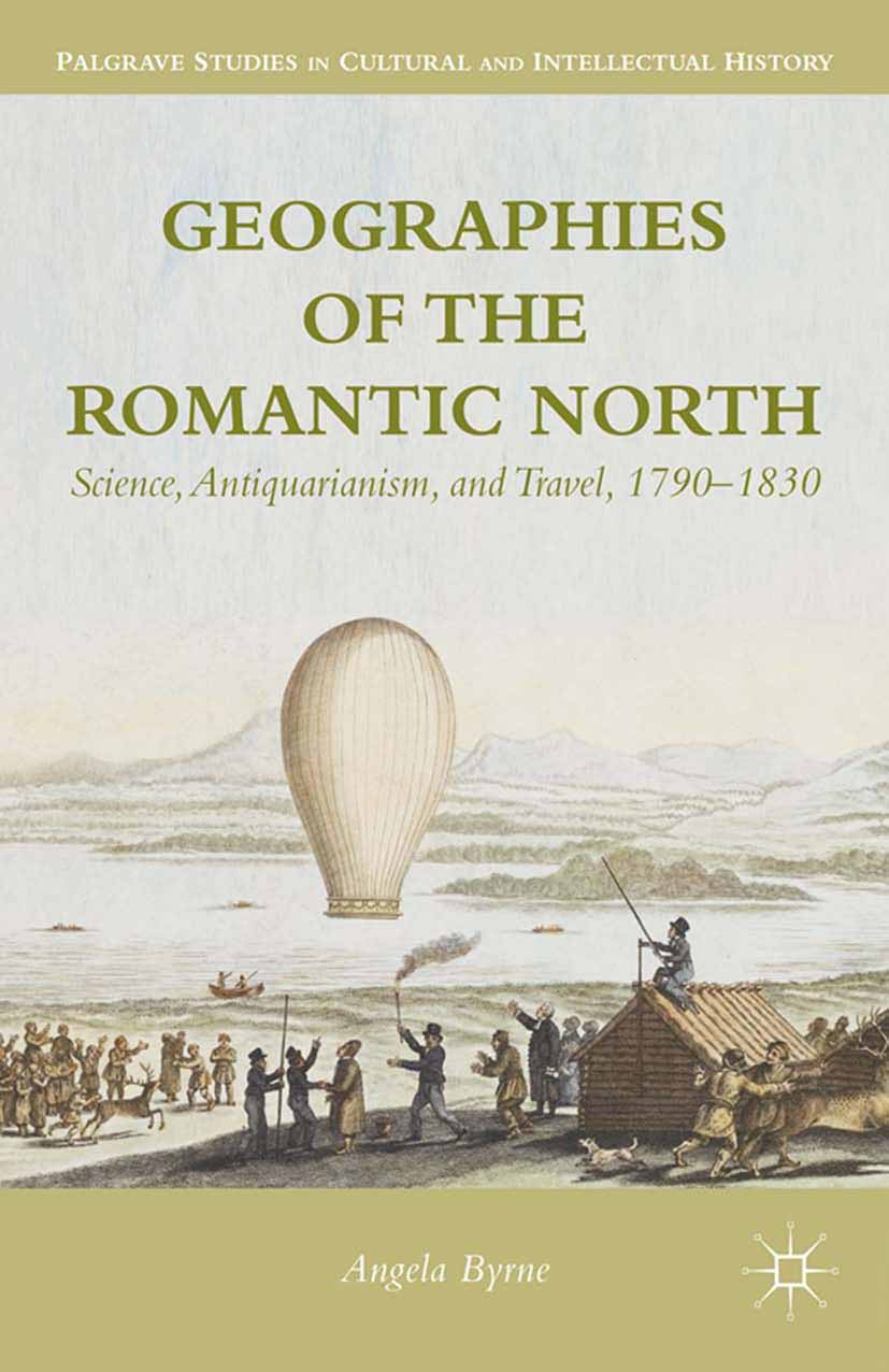 Byrne, Angela - Geographies of the Romantic North, ebook