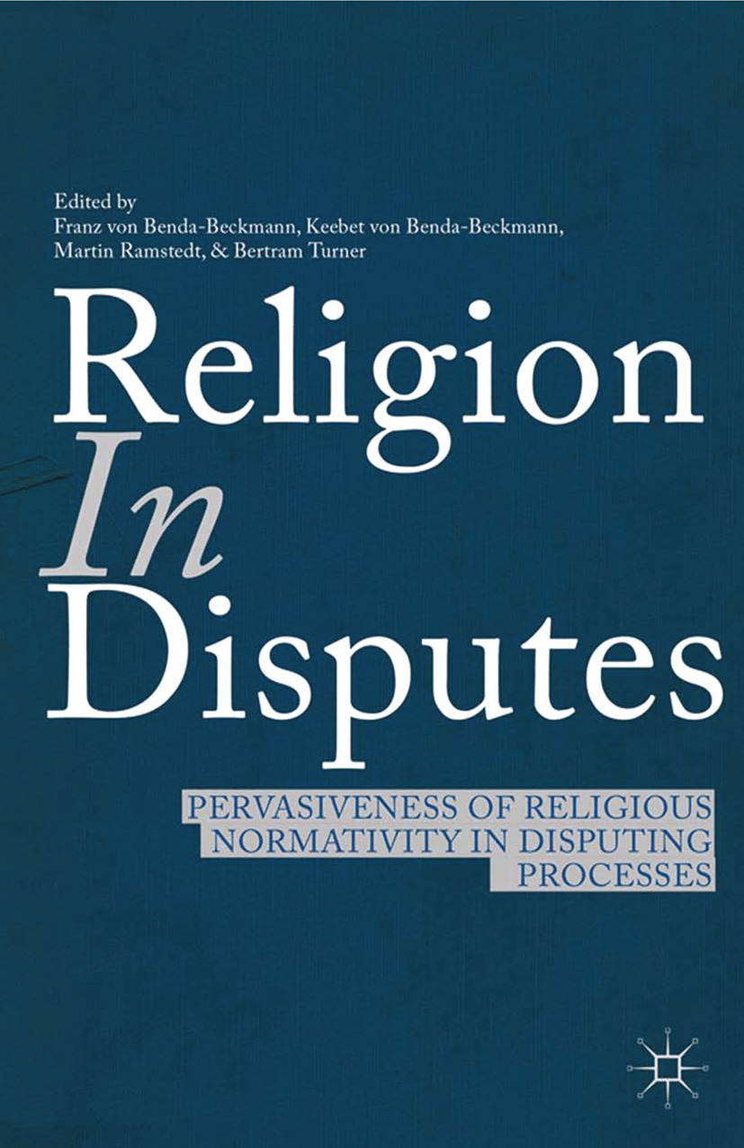 Benda-Beckmann, Franz - Religion in Disputes, ebook