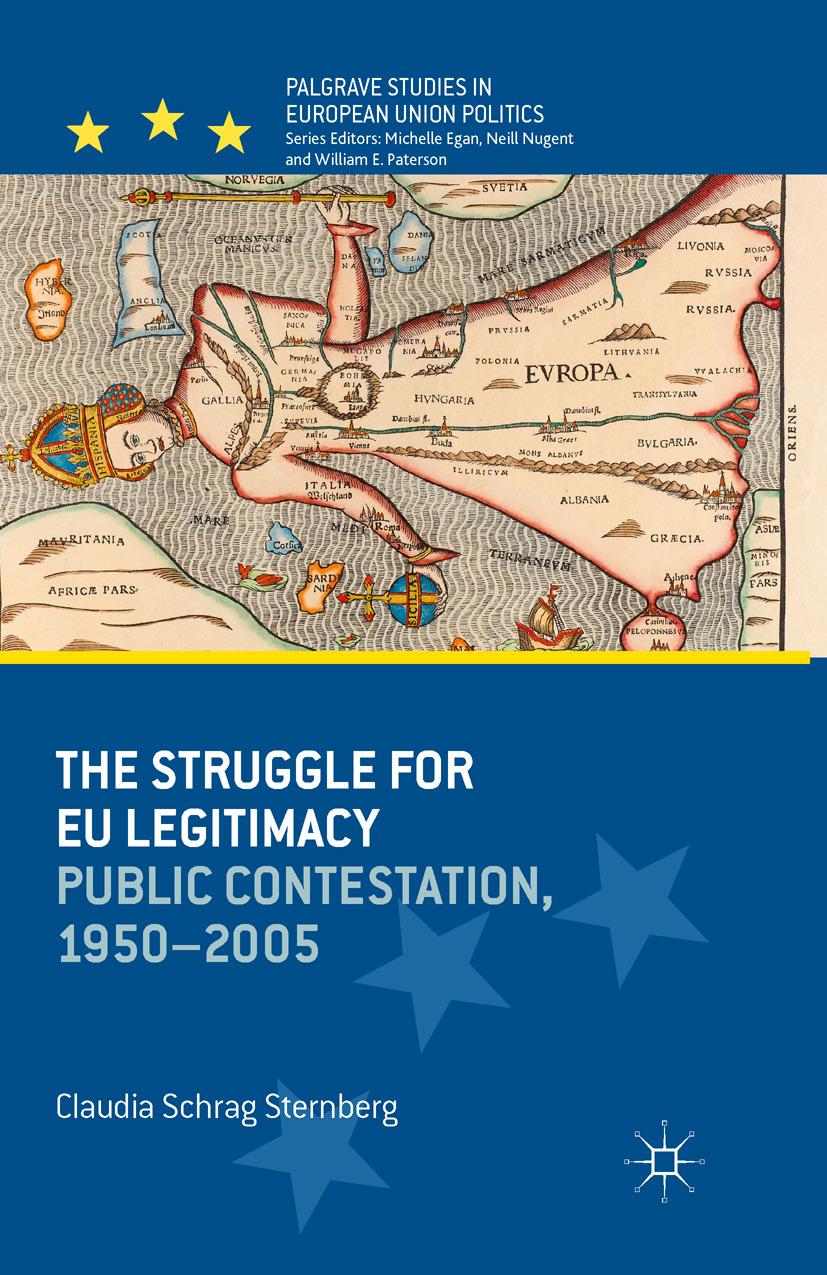 Sternberg, Claudia Schrag - The Struggle for EU Legitimacy, ebook