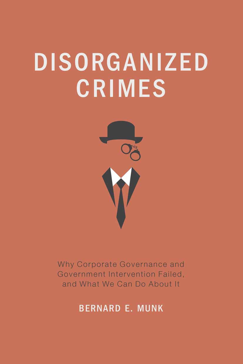 Munk, Bernard E. - Disorganized Crimes, ebook