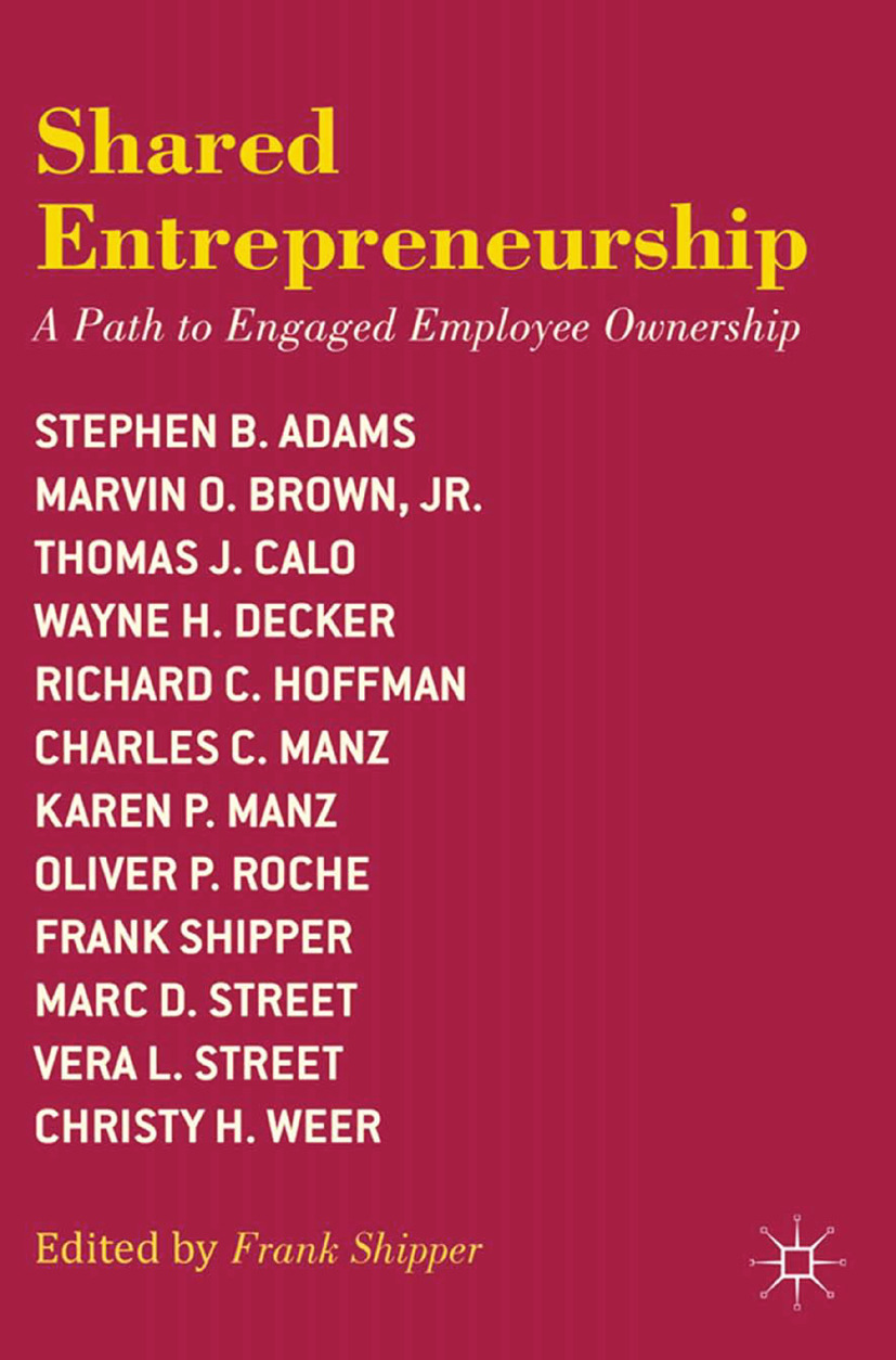 Adams, Stephen B. - Shared Entrepreneurship, ebook
