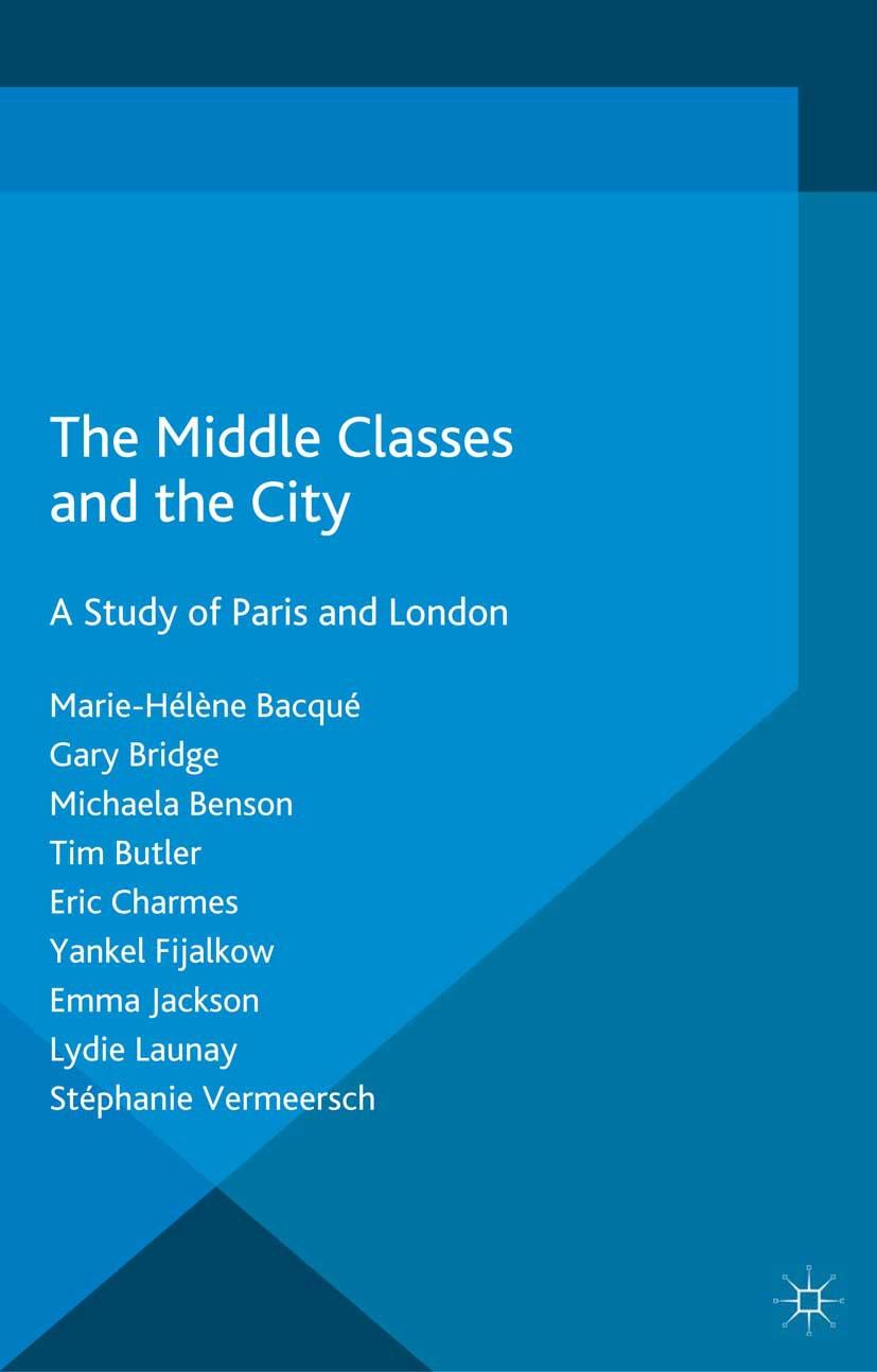 Bacqué, Marie-Hélène - The Middle Classes and the City, ebook
