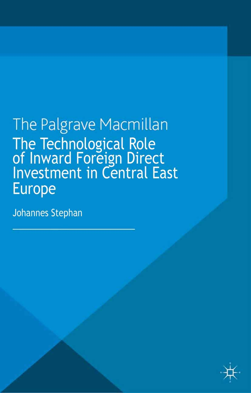 Stephan, Johannes - The Technological Role of Inward Foreign Direct Investment in Central East Europe, ebook