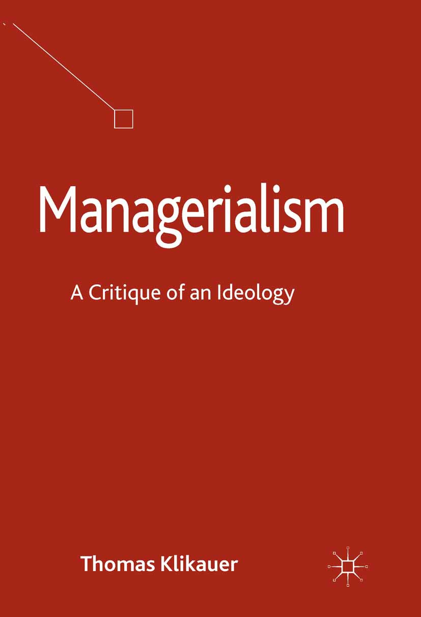 Klikauer, Thomas - Managerialism, ebook