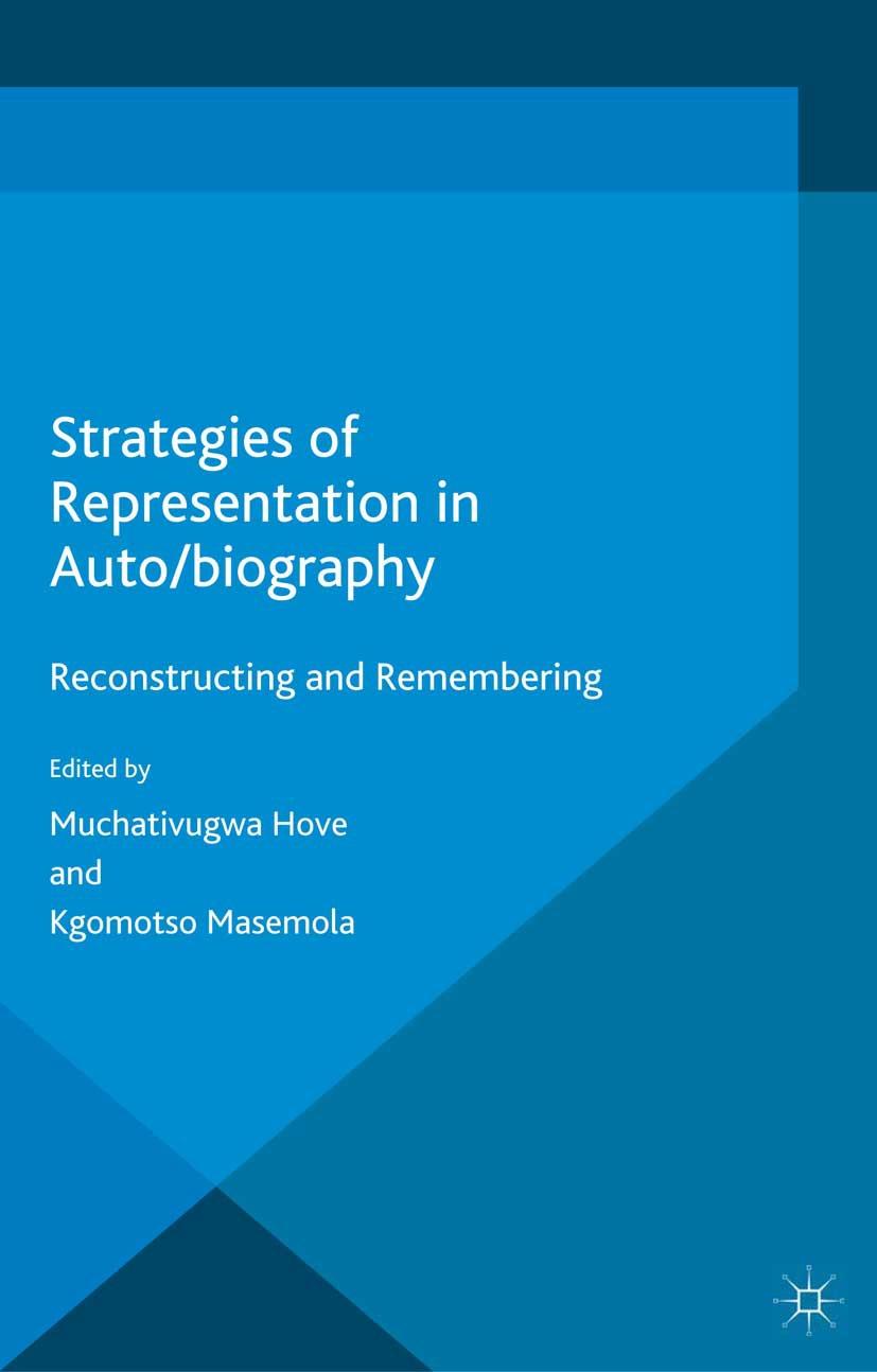 Hove, Muchativugwa - Strategies of Representation in Auto/biography, ebook