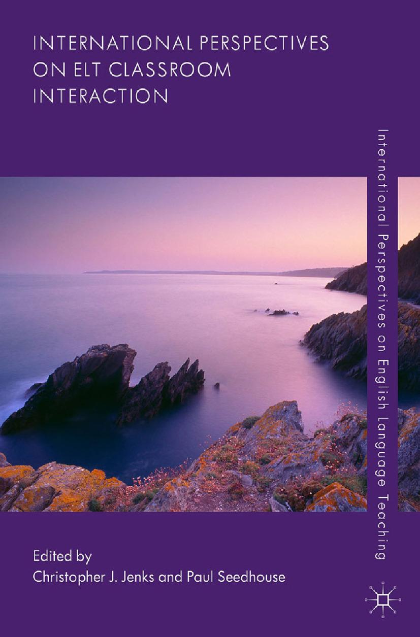 Jenks, Christopher J. - International Perspectives on ELT Classroom Interaction, ebook