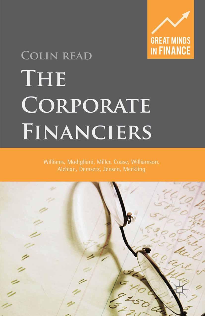 Read, Colin - The Corporate Financiers, ebook