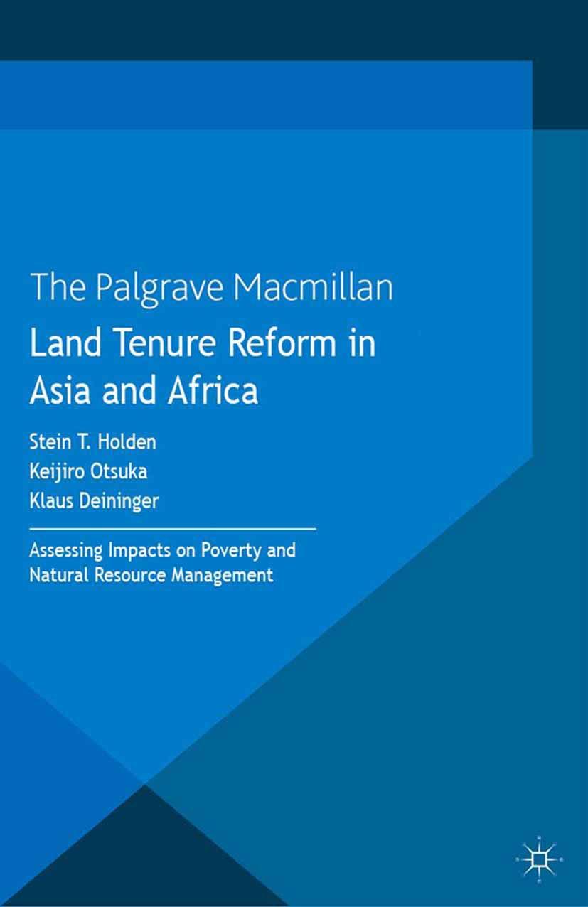 Deininger, Klaus - Land Tenure Reform in Asia and Africa, ebook