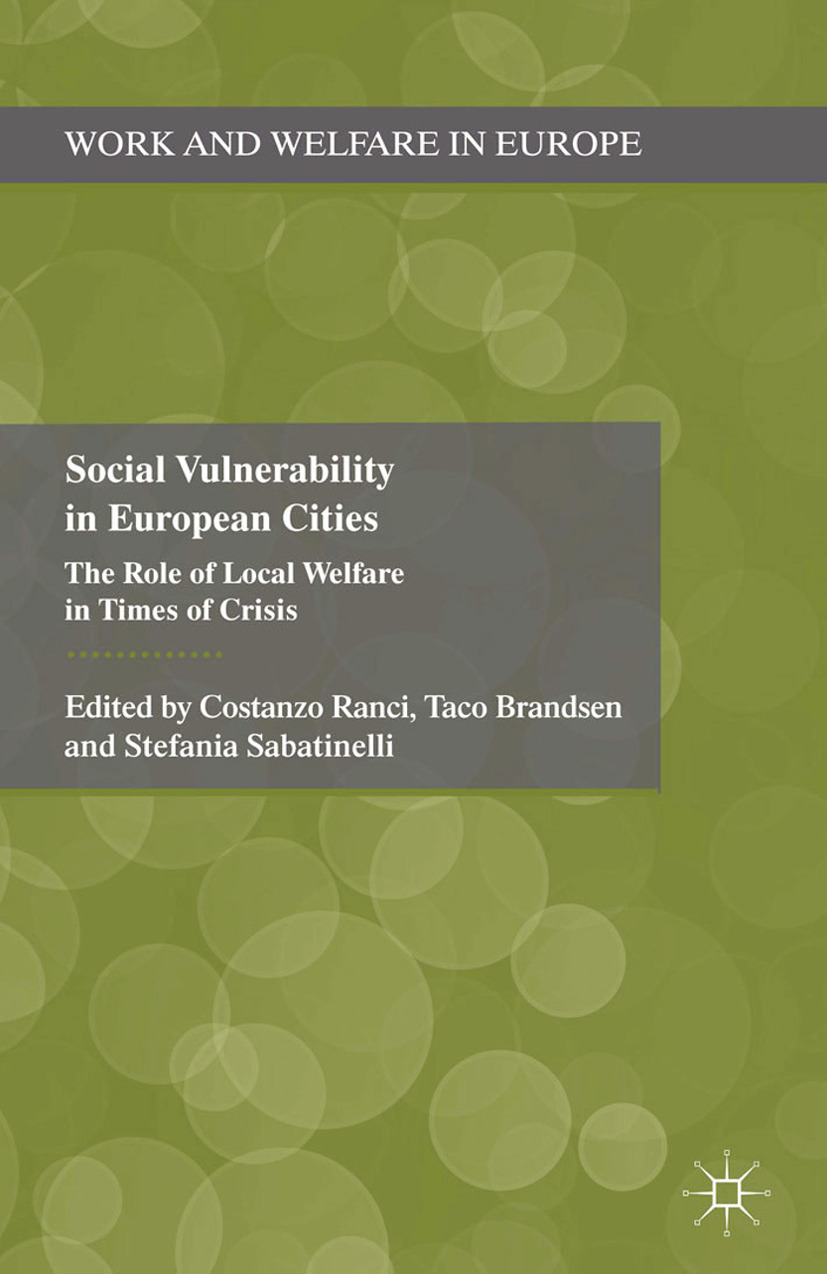 Brandsen, Taco - Social Vulnerability in European Cities, ebook