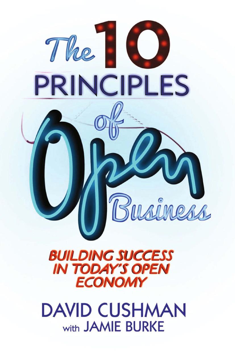 Burke, Jamie - The 10 Principles of Open Business, ebook