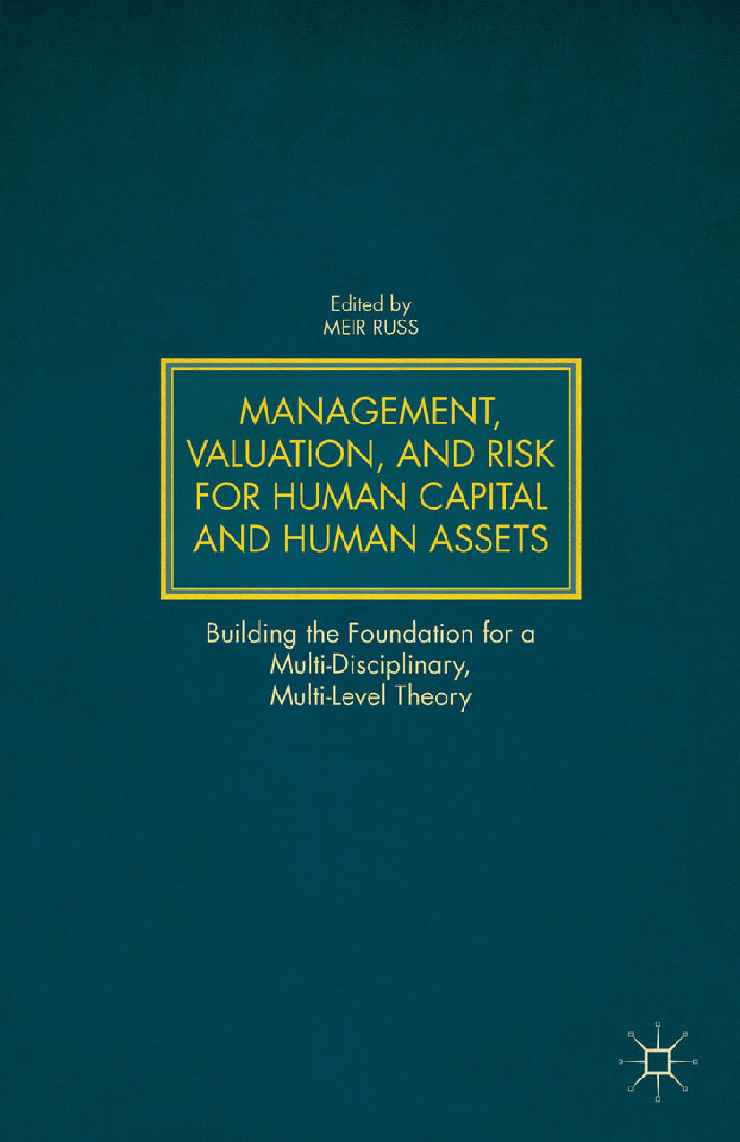 Russ, Meir - Management, Valuation, and Risk for Human Capital and Human Assets, ebook
