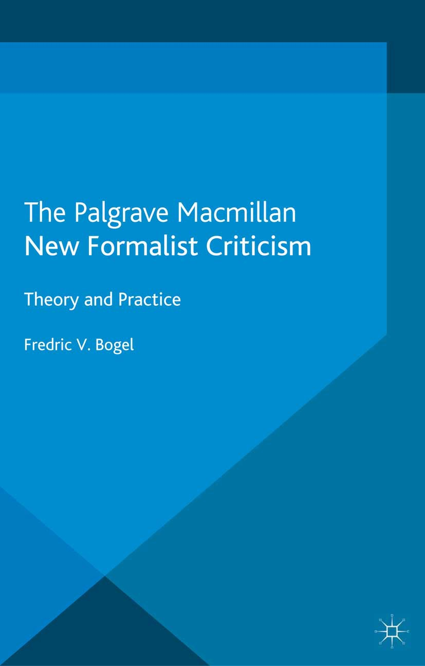 Bogel, Fredric V. - New Formalist Criticism, ebook