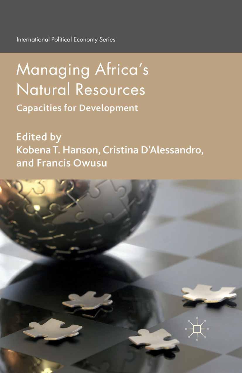 D'Alessandro, Cristina - Managing Africa's Natural Resources, ebook