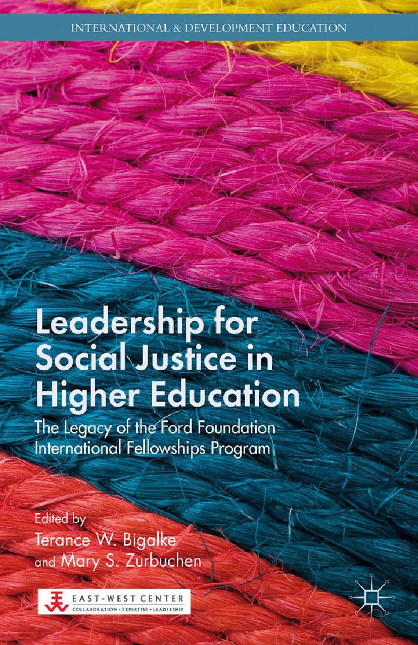 Bigalke, Terance W. - Leadership for Social Justice in Higher Education, ebook