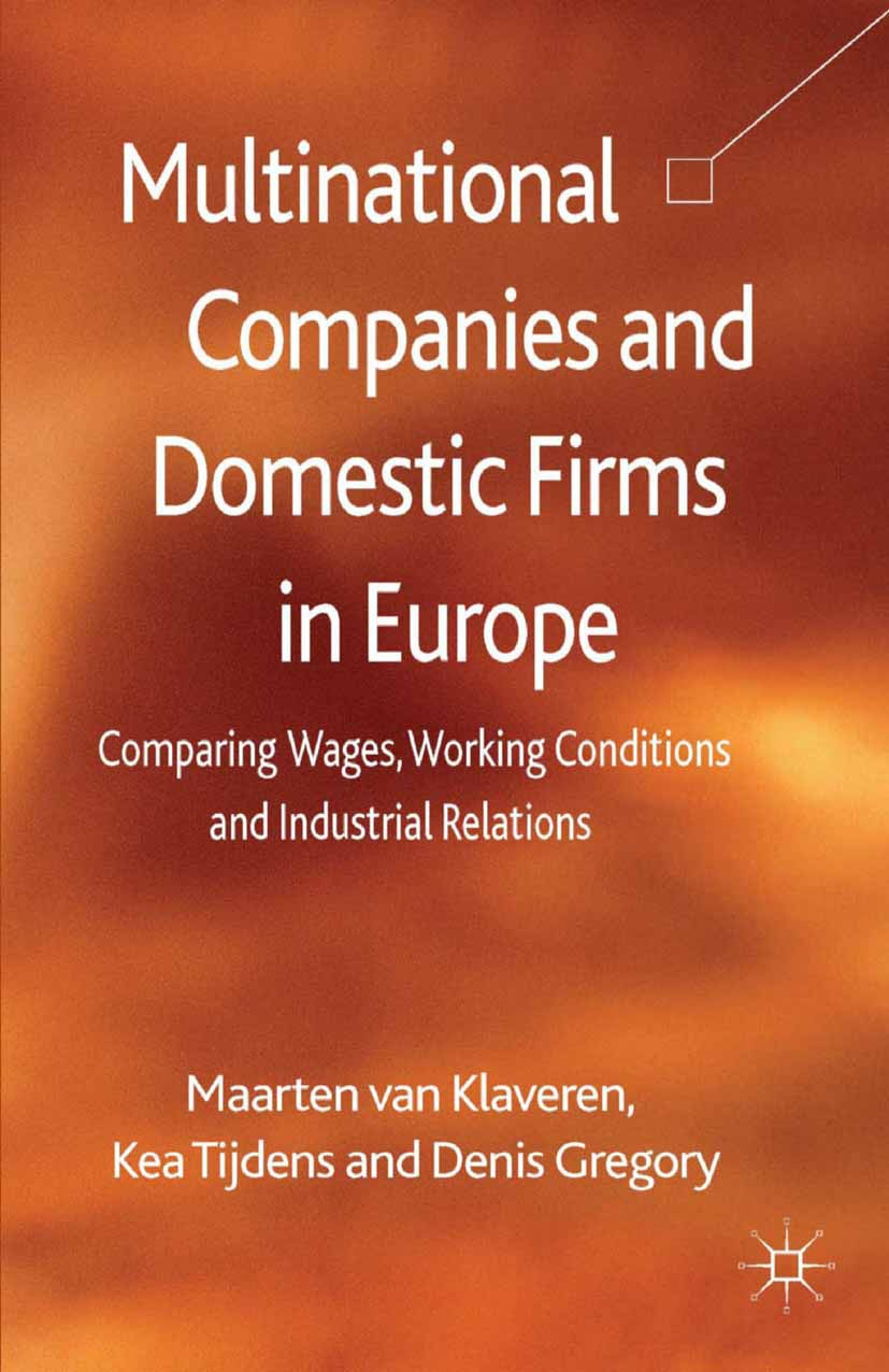 Gregory, Denis - Multinational Companies and Domestic Firms in Europe, ebook