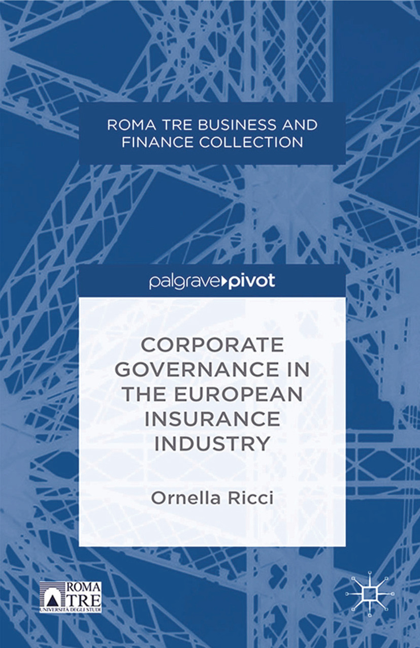 Ricci, Ornella - Corporate Governance in the European Insurance Industry, ebook