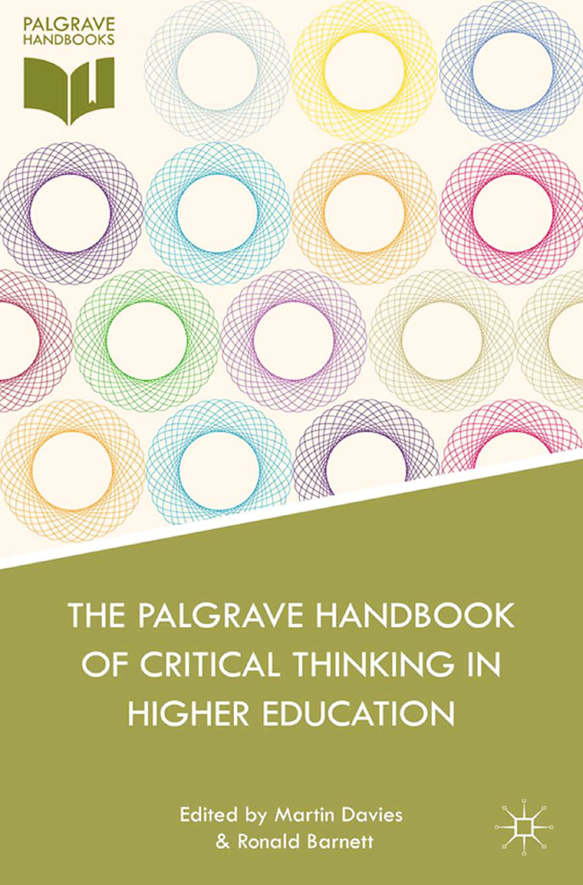 Barnett, Ronald - The Palgrave Handbook of Critical Thinking in Higher Education, ebook