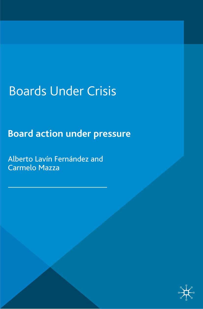 Fernández, Alberto Lavîn - Boards Under Crisis, ebook