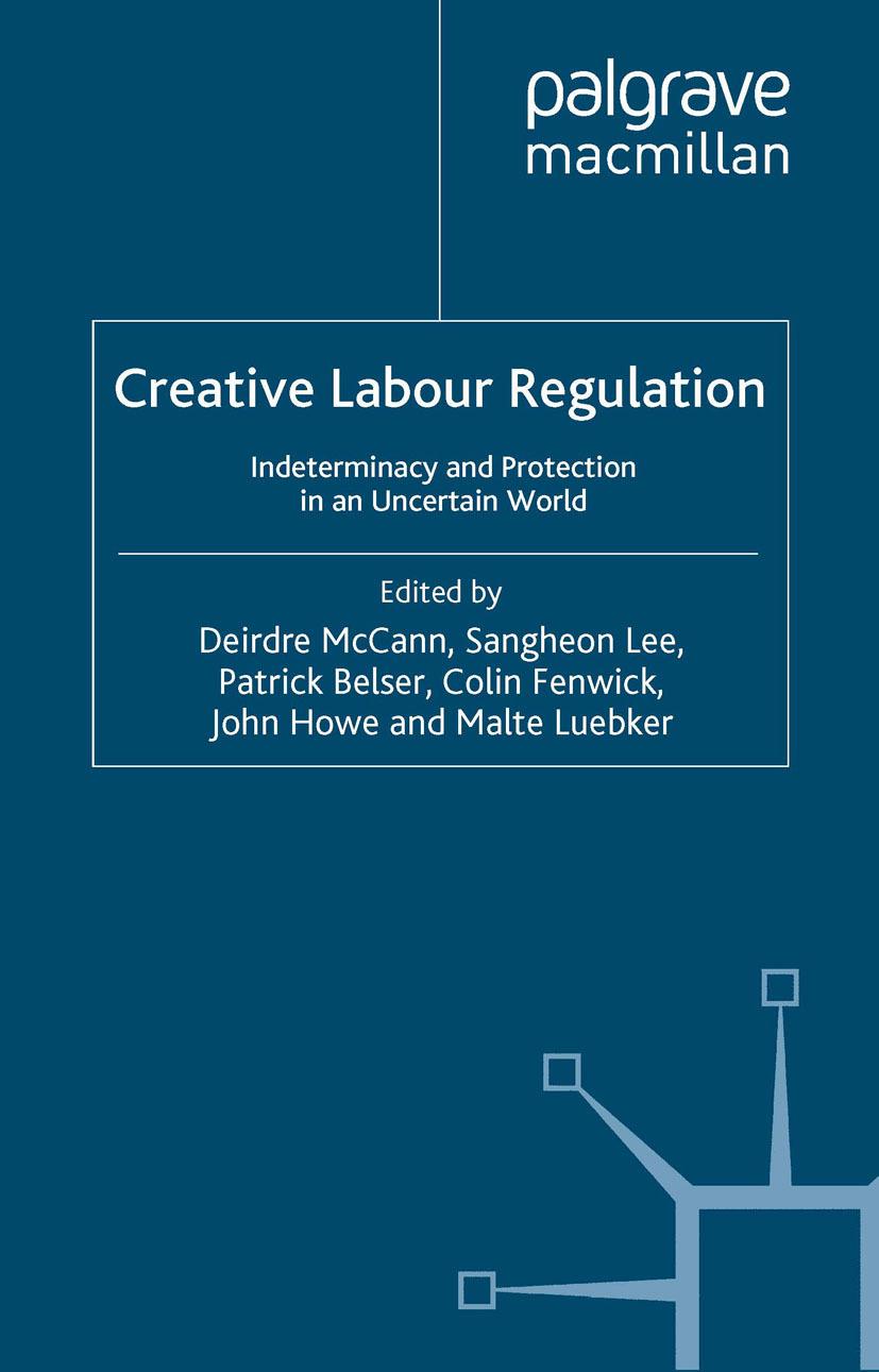 Belser, Patrick - Creative Labour Regulation, ebook