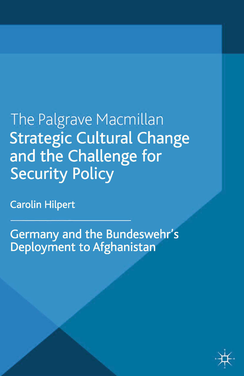 Hilpert, Carolin - Strategic Cultural Change and the Challenge for Security Policy, ebook