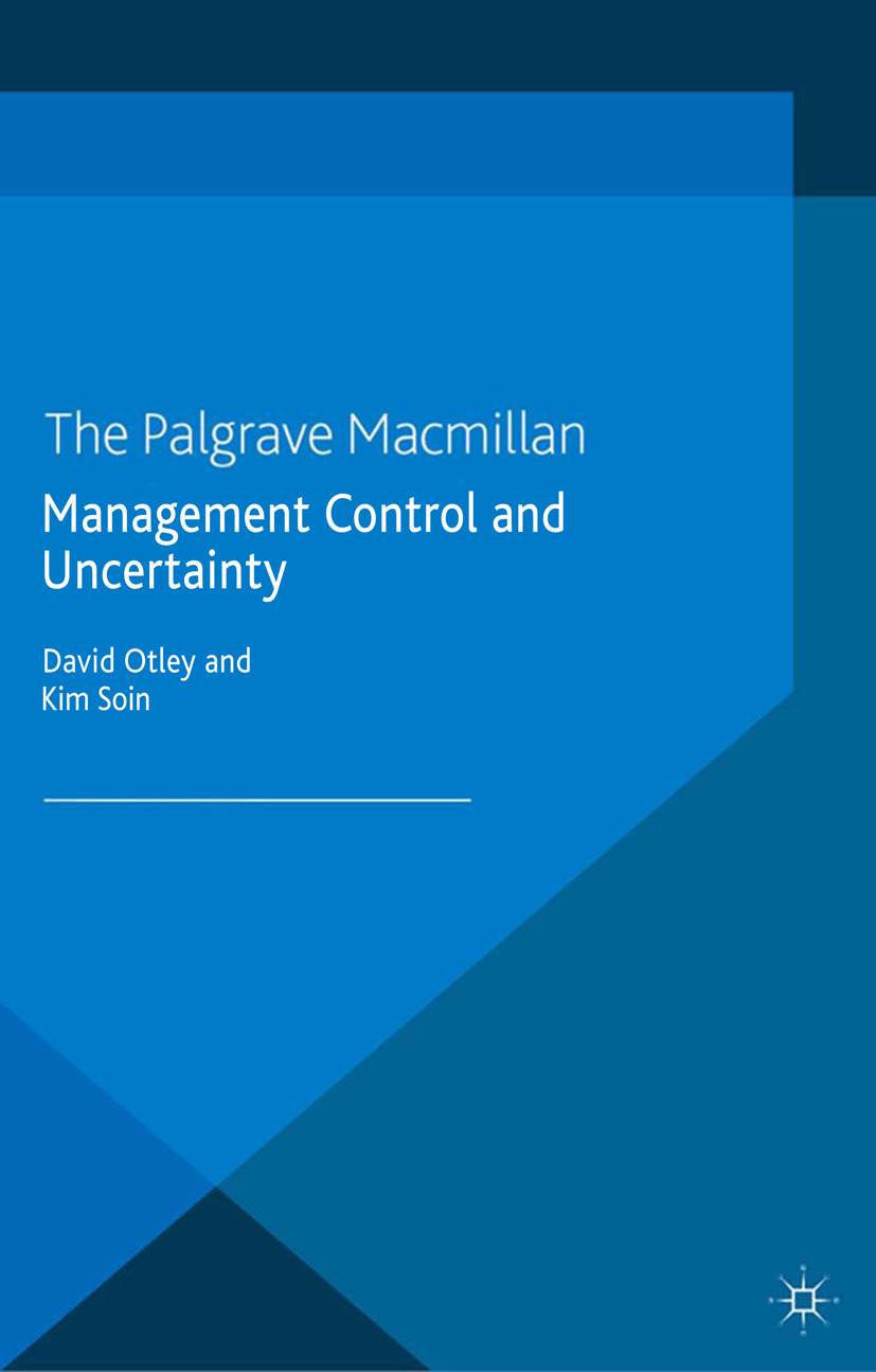 Otley, David - Management Control and Uncertainty, ebook